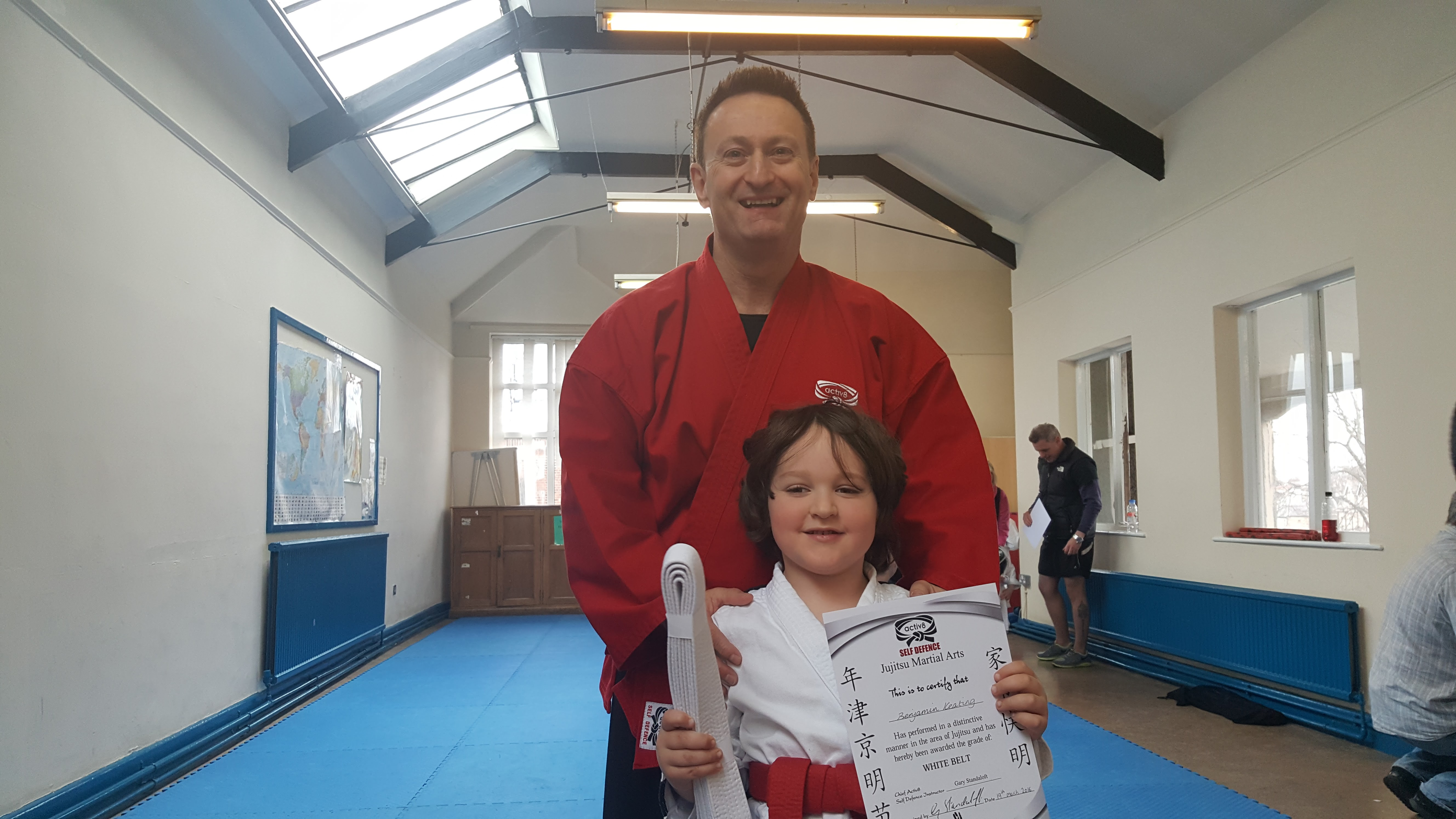 Ju-Jitsu Certificate