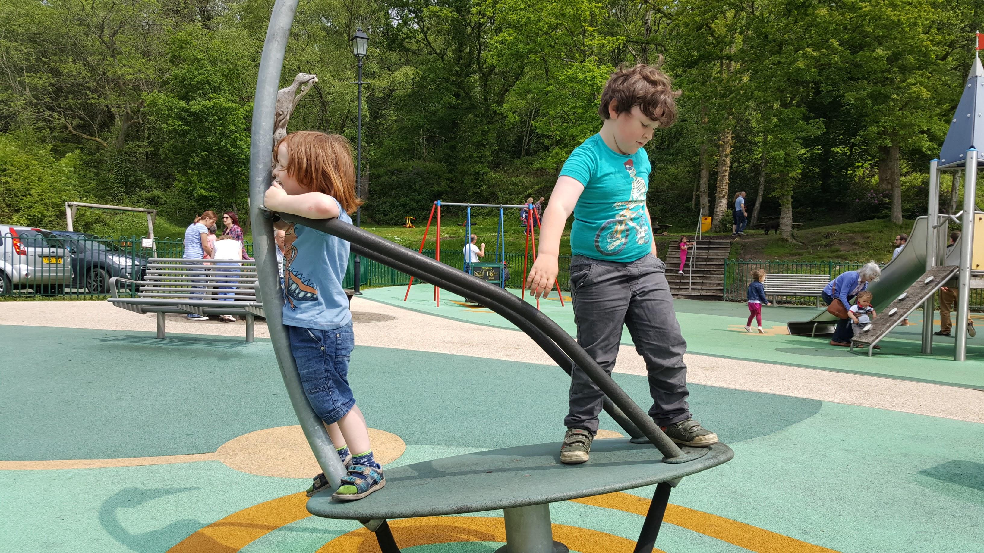 Playground with Elliott