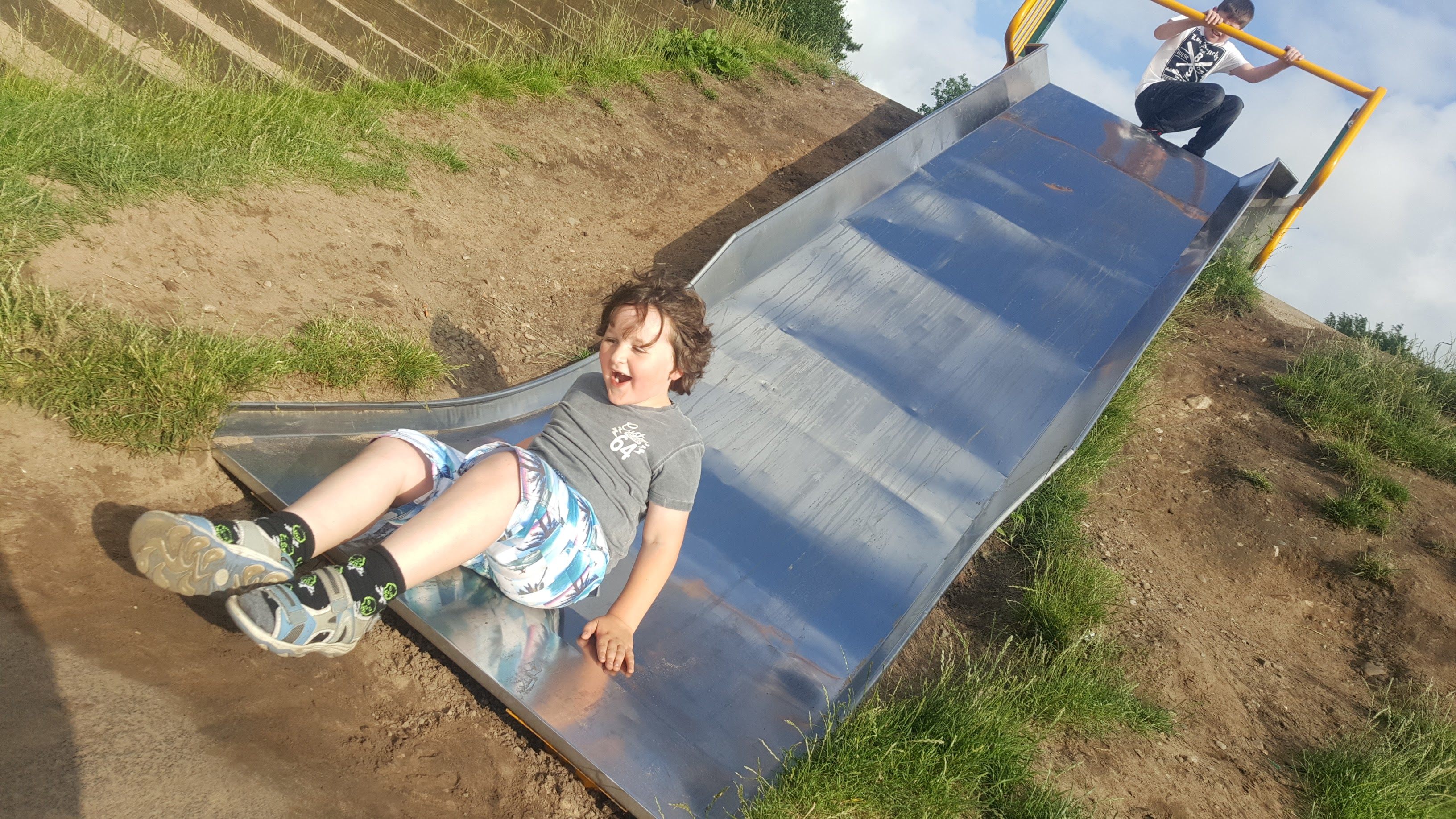 On The Slide